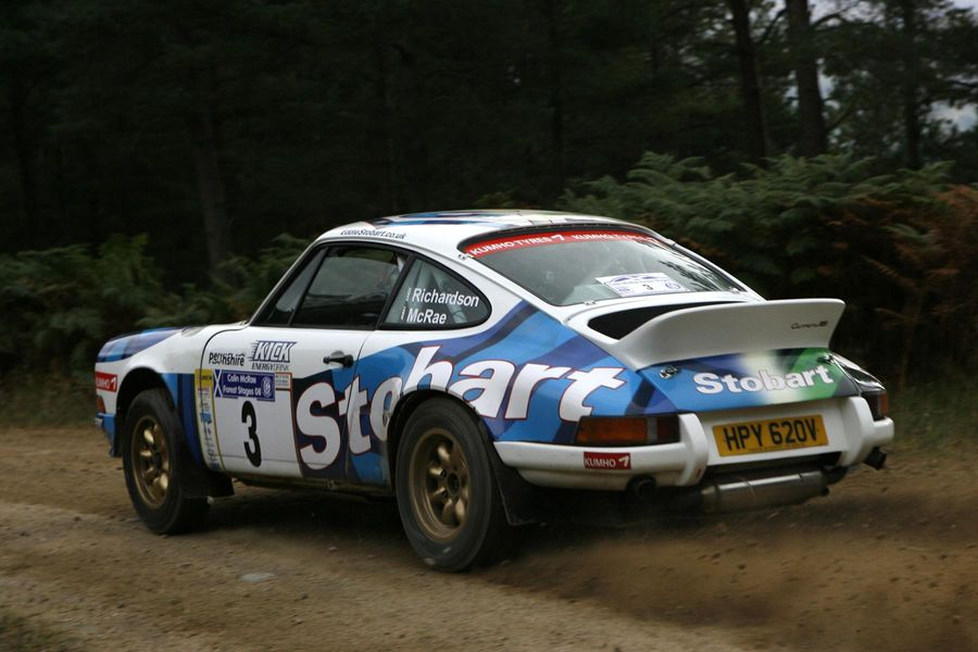 Jimmy McRae returns to Wales Rally GB in a Porsche 911