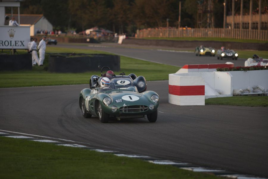 Aston Martin celebrates 70 years at Goodwood Revival