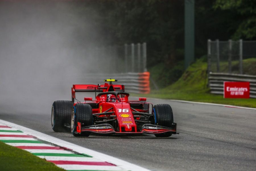 Leclerc sets the pace in Italian GP free practice
