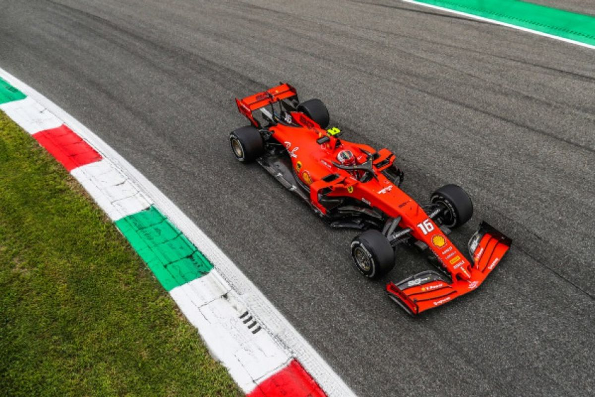 Farce 1: Leclerc on top of shambolic Monza qualifying