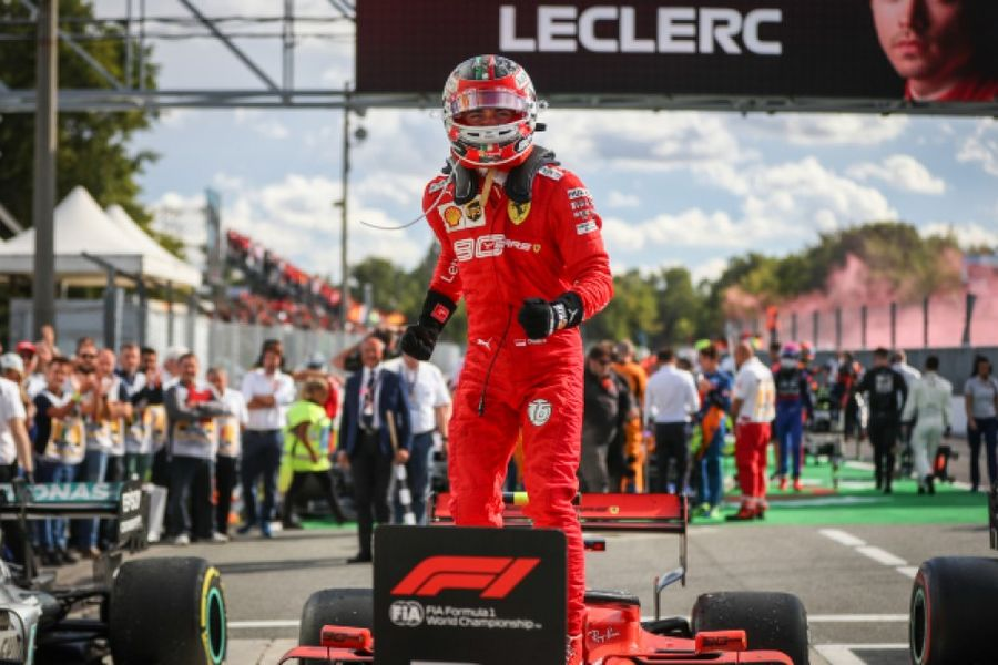 Leclerc gives Ferrari superb home win at Monza