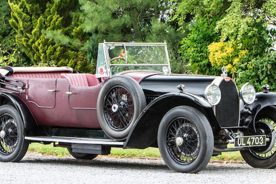 Bugatti Type 44 Tourer Sold for £293,250 at Bonhams, results