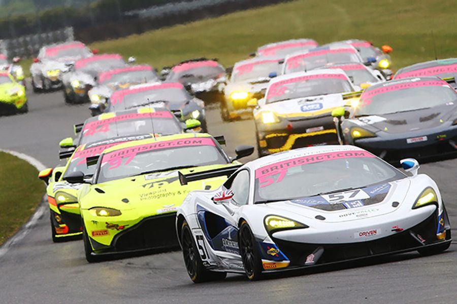 British GT Championship down to the wire at Donington