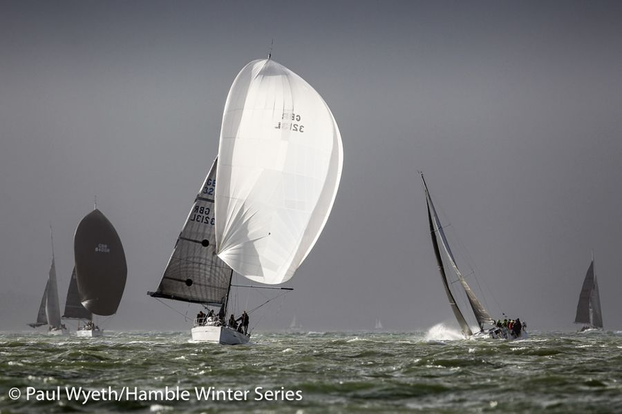 Entries for the 38th HYS Hamble Winter Series are now open