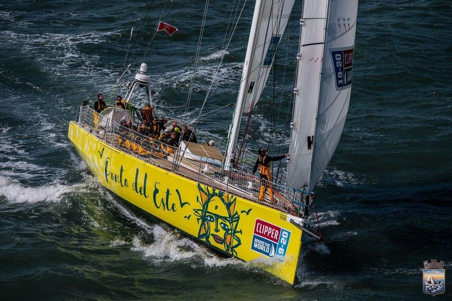 Winners of Clipper Round The World Race first stage arrive in Portimao