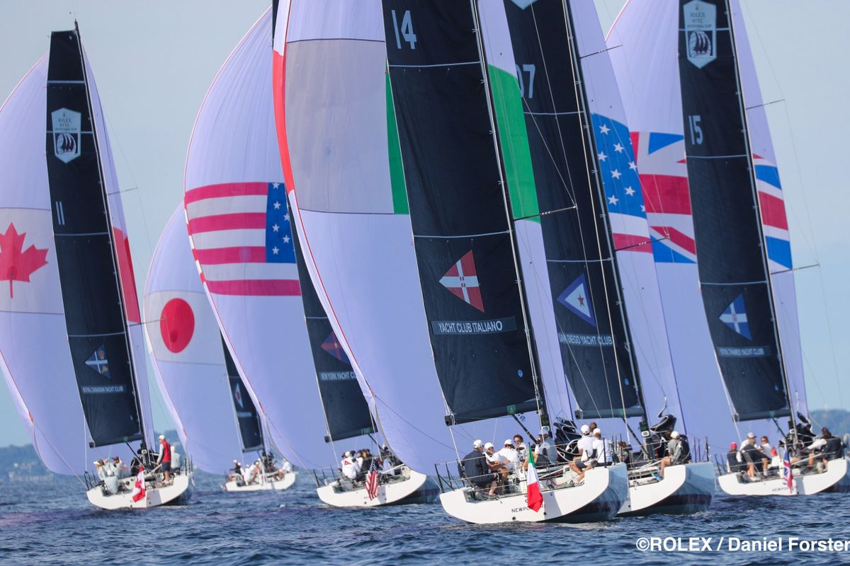 Rolex New York Yacht Club Invitational Cup; Day 1 Honours to Japan