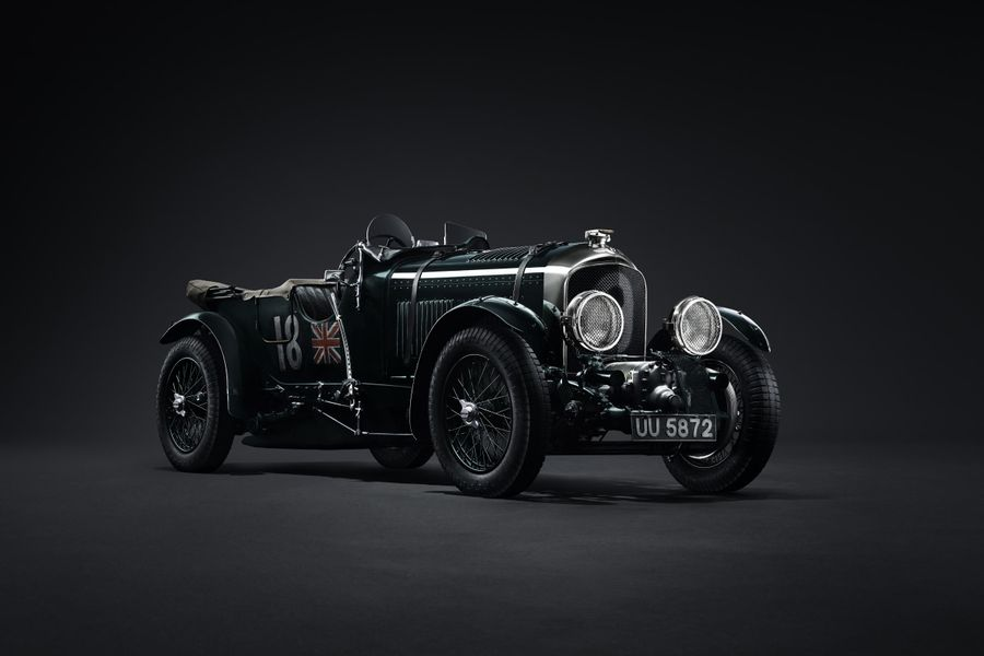 Bentley Blower given new lease of life in a stunning recreation