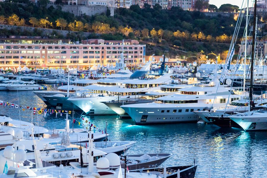 Holding the 143m winning lottery ticket, then head to the Monaco Yacht Show
