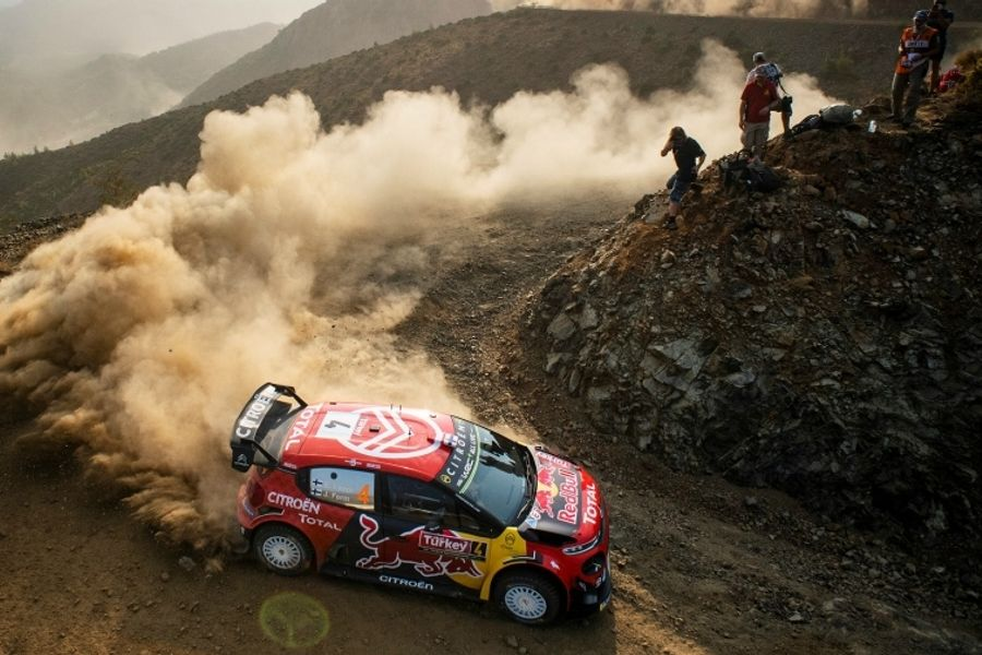 Lappi leads Ogier to head Citroën 1,2 on Rally Turkey opener
