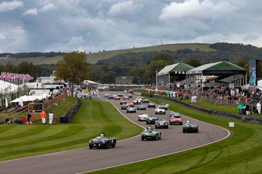 Goodwood Revival roars into life today;  for news and live streaming...