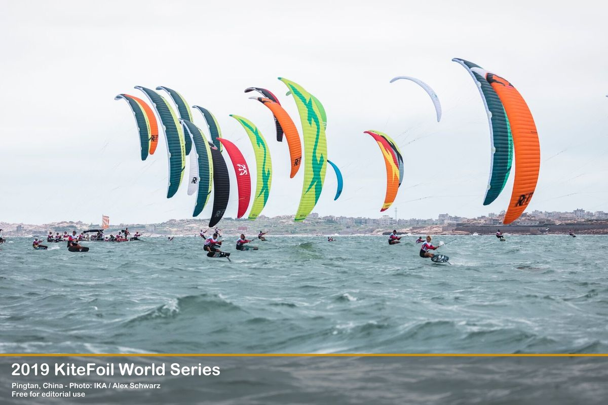 IKA KiteFoil World Series; Théo de Ramecourt finds his groove