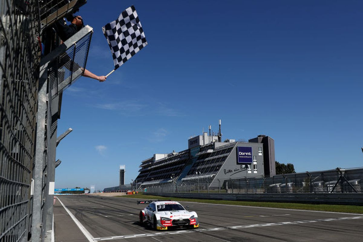 Rast on course for DTM title after perfect Saturday