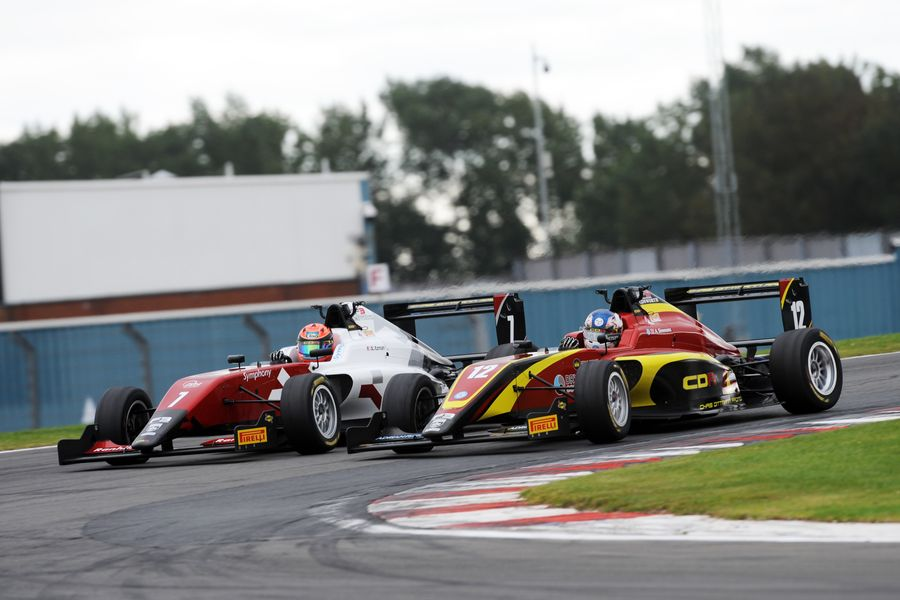 Novalak takes British F3 championship at Donington Park
