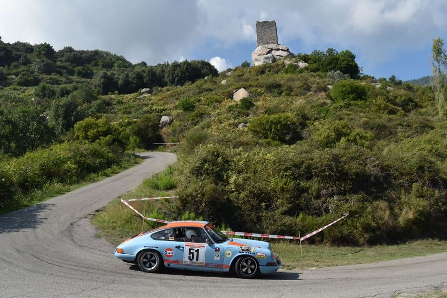 Eighty three cars entered for Rally Elba Storico