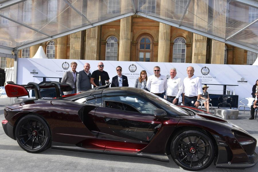 Stunning McLaren Senna wins inaugural Lockton Club Trophy at Salon Privé