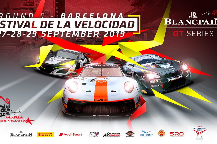 Blancpain GT Series heads to Barcelona for final showdown