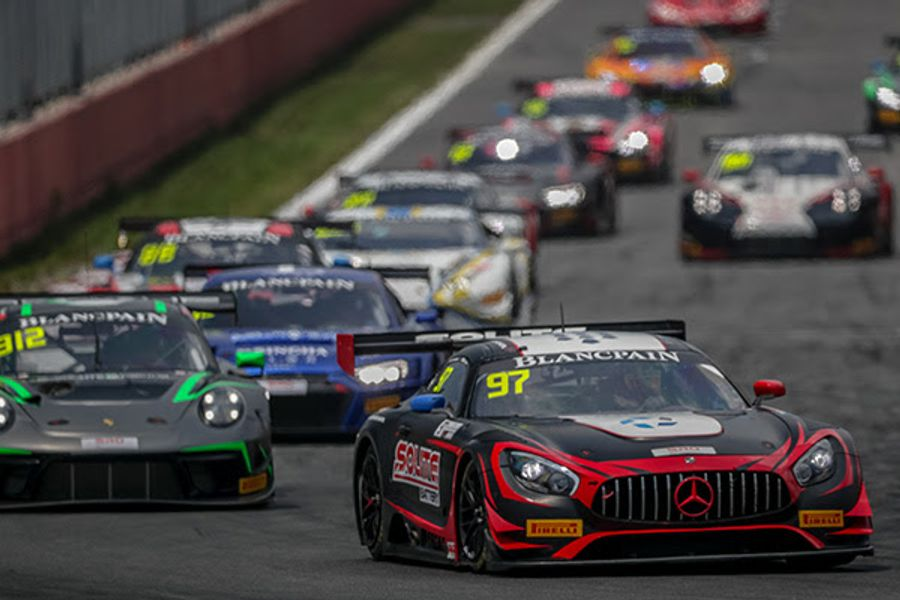 Five-way GT3 Blancpain GT WCA title battle to be settled in Shanghai