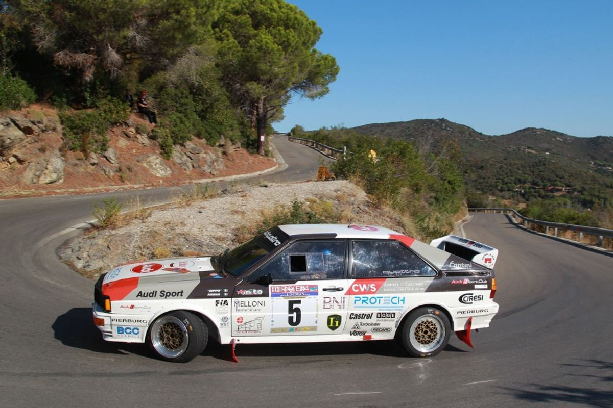 Zippo and Nicola Arena lead first leg of Rally Elba Storico