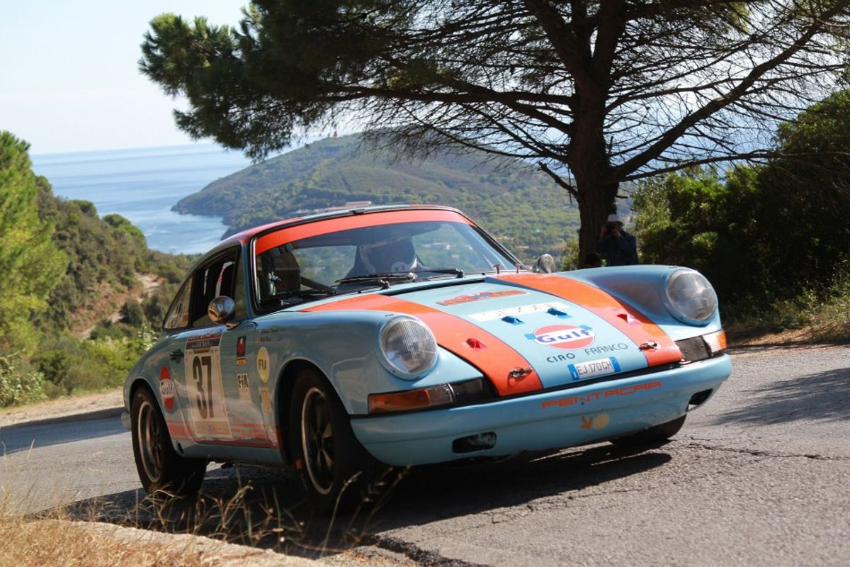 EHSRC: Porche and Audi top cars on Rally Elba Storico