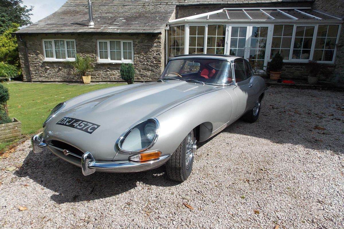 Series 1 Jaguar E type the winner at Barons Sandown auction, results