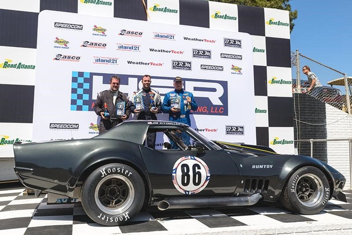The 43rd Historic Sportscar Racing Mitty at Michelin Raceway Road Atlanta Celebrates Corvette