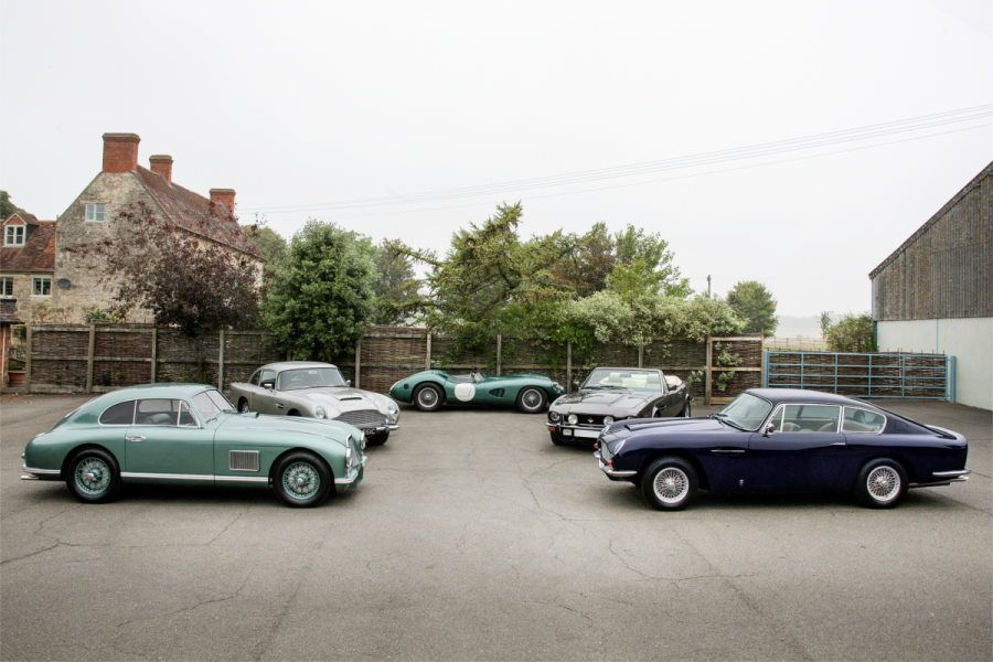 Silverstone Auctions to Offer a Fantastic Selection of Aston Martins at NEC Classic Motor Show Sale