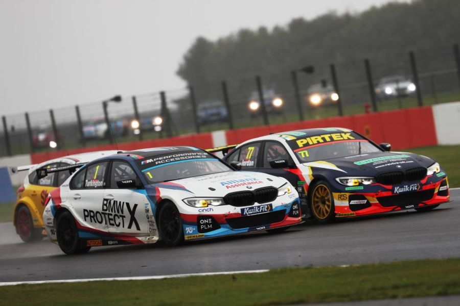 Advantage Colin Turkington after sensational action at Silverstone