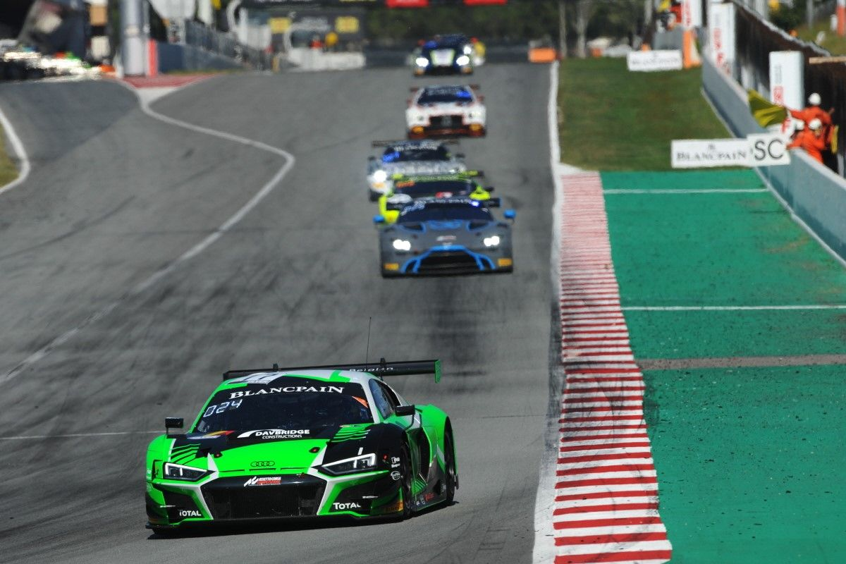 'Character Building' First Blancpain Season Concludes With Ninth in Silver Cup for MacDowall in Spain