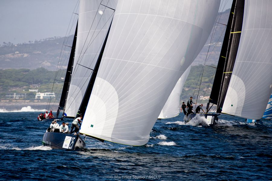 Team Aqua shows her golden wheel form Day 2 44Cup Cascais
