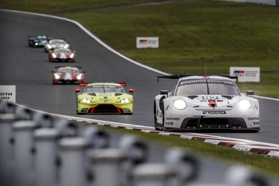 Porsche defends WEC championship lead with podium in Japan