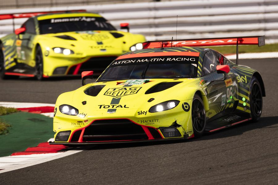 First double-class victory first for Aston Martin Vantage GTE in Fuji WEC