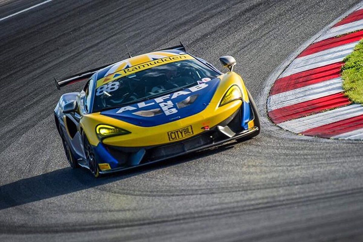 First championship title of 2019 season for the McLaren 570S GT4