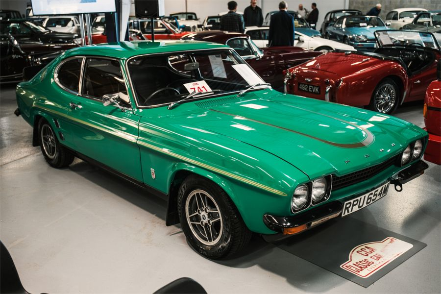 1970s Ford Capris lead the sale at Everyman Classics CCA sale