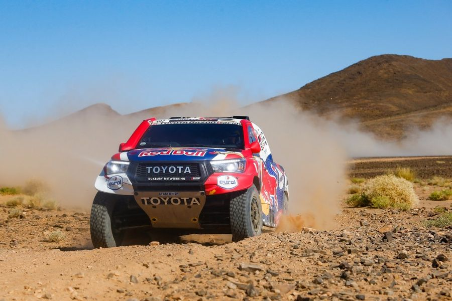 Nasser Al-Attiyah and Stéphane Peterhansel hit problems on Rallye du Maroc