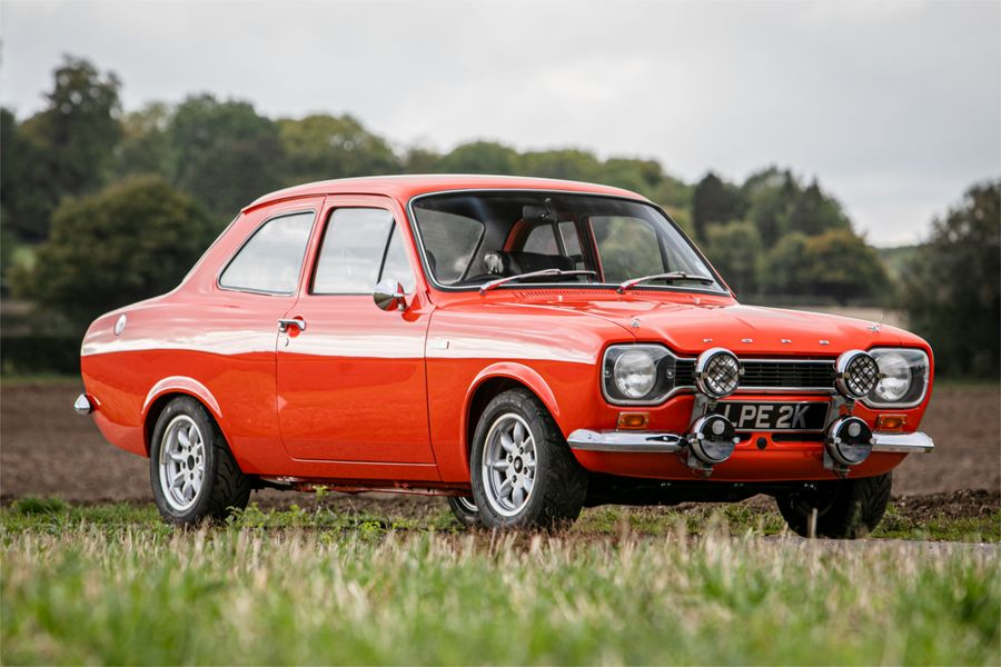 1972 Ford Escort Twin Cam on offer at Silverstone Auction's NEC sale