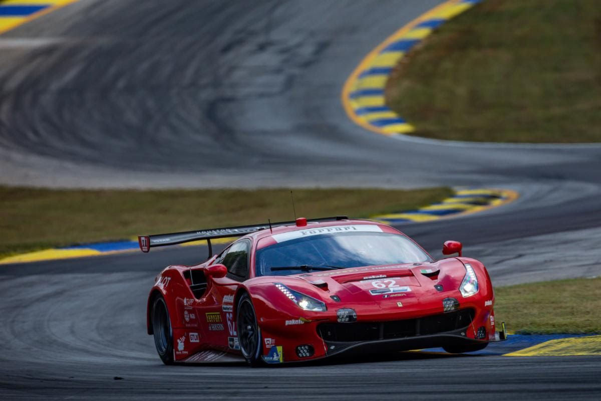 Risi Competizione takes GTLM pole at Petit Le Mans