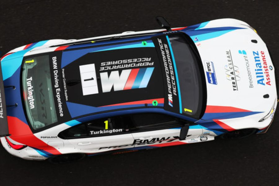 Turkington tops BTCC finale at Brands Hatch FP1