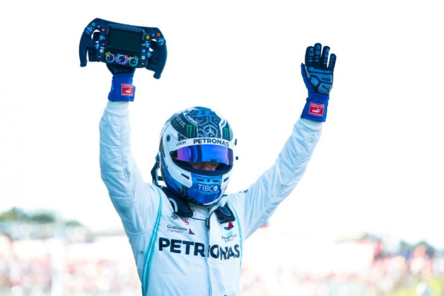 Bottas wins in Japan, Mercedes take 6th consecutive constructors' title