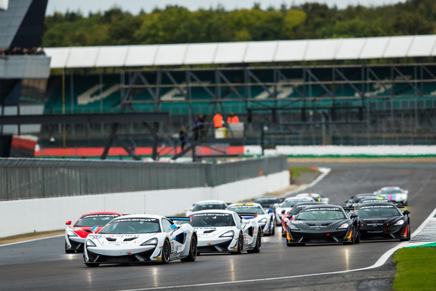 Moss claims second Pure McLaren GT Series win