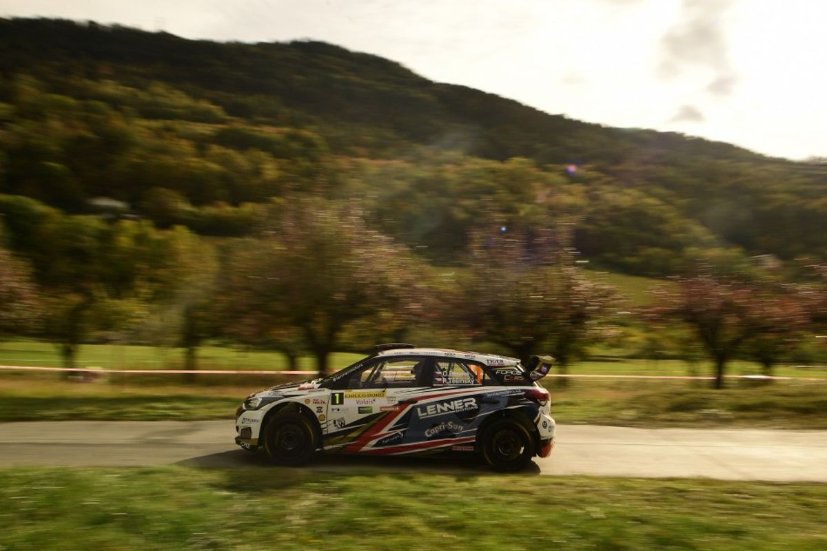Bisaha, Devanthery and Michello take European Rally Trophy titles