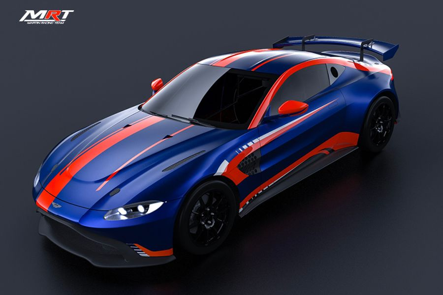 Maxime Martin creates Belgian-based Aston Martin GT4 team