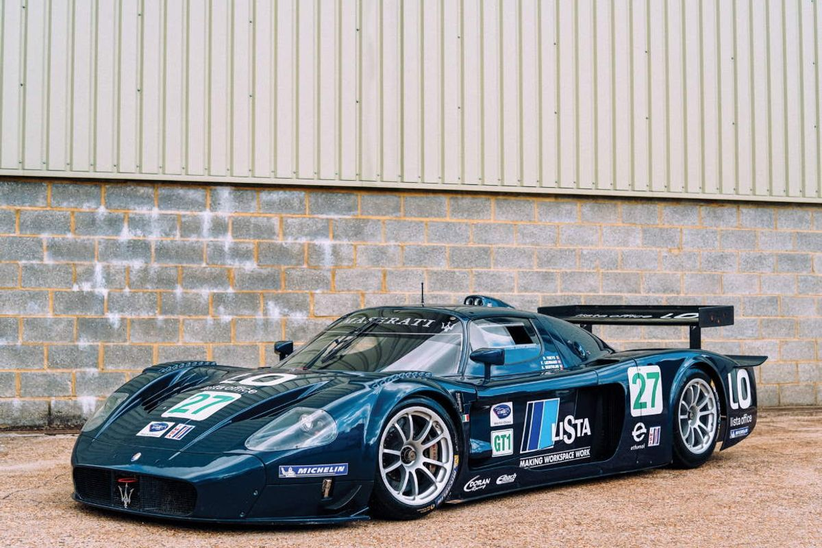 2006 Maserati MC12 GT1 on offer at RM Sotheby's Oct Sale