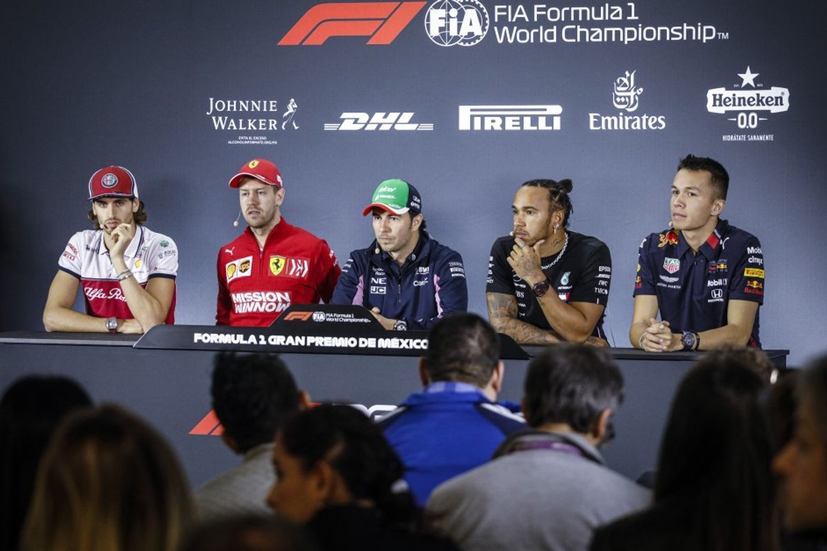 Mexican Grand Prix Drivers' Conference