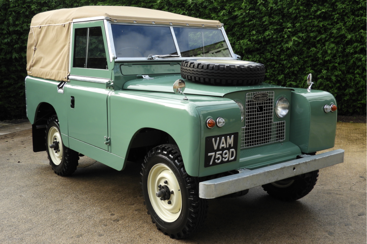 1966 Land Rover Series 2A Soft Top on offer at CCA auction