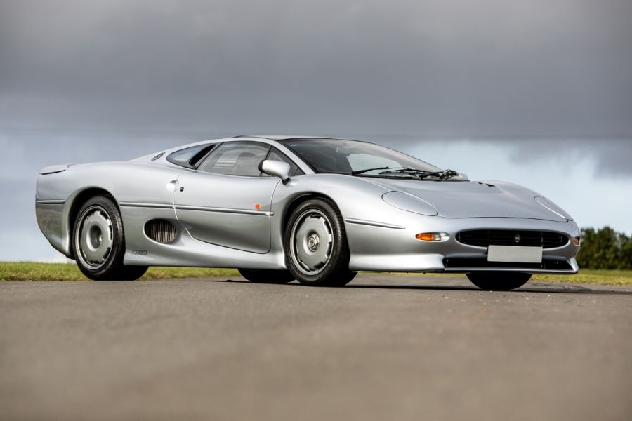 1993 JAGUAR XJ220 a Saturday offering at Silverstone Auctions NEC  sale