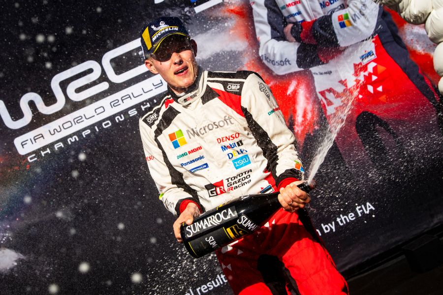 Tanak takes maiden WRC drivers' title, Neuville wins in Spain