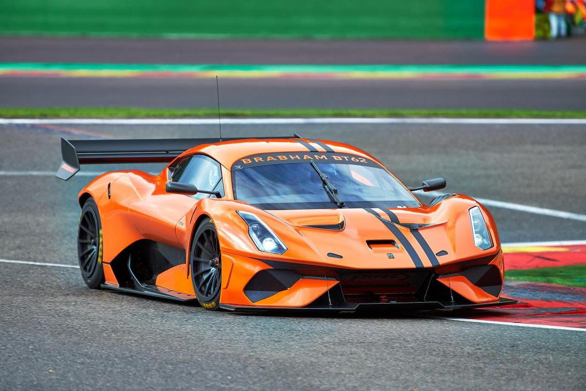 Brabham Automotive announces BT62 competition spec