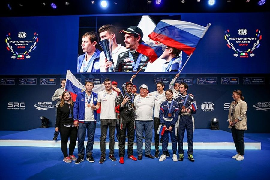 Russia wins inaugural Motorsport Games