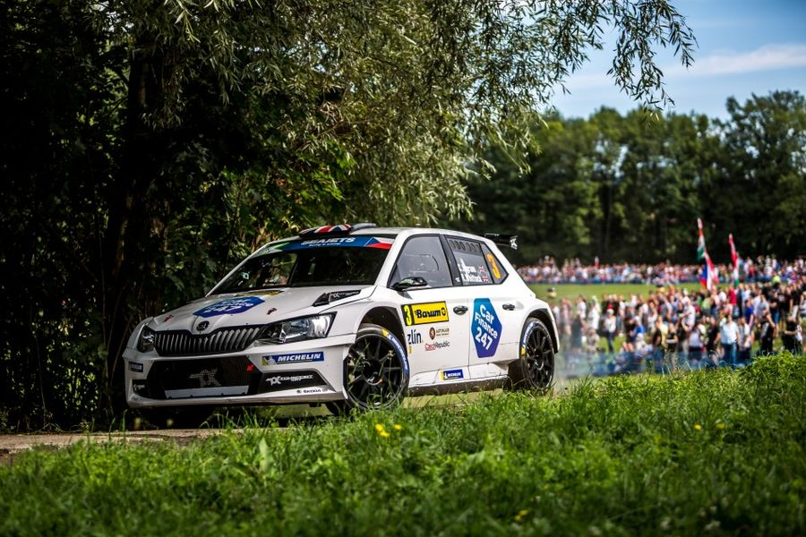 Three drivers in face off for European Rally Championship title