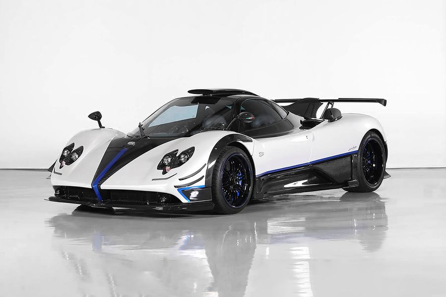 Pagani Zonda on offer at Silverstone's first Middle East auction